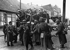 4. SS Polizei Panzergrenadier Division armed with MP28s and Panzerschrecks for the defense of East Pomerania.