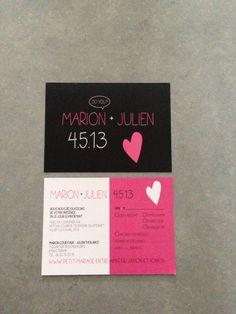 Une histoire de faire-part (et autre cadeaux d'invités) par ... Marion - With a love like that - Blog lifestyle & LOVE