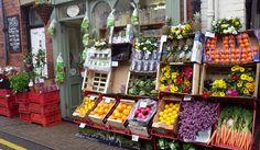 ~ green grocer ~ LLangollen ~ Pembrokeshire ~ Wales ~ UK ~