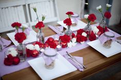 decor, floral, centerpieces, furniture, chairs, stripes, Winter, flowers, daytime, details, red