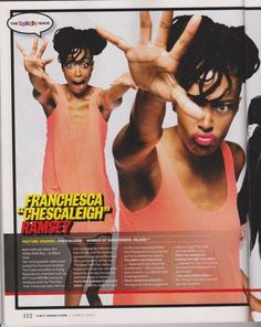 I'm making silly faces in Ebony's April 2013 comedy issue