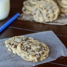 Perfect Chocolate Chip Cookies   Dinners, Dishes, and Desserts