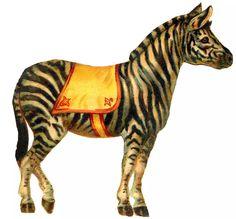 Zebra. Circus themed nursery idea
