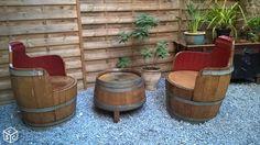 Salon en tonneaux de chêne