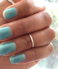 Silver Above Knuckle Ring Midi Ring Sterling ROUND HAMMERED Ring - SALE PRICE!!! £4.99 | eBay