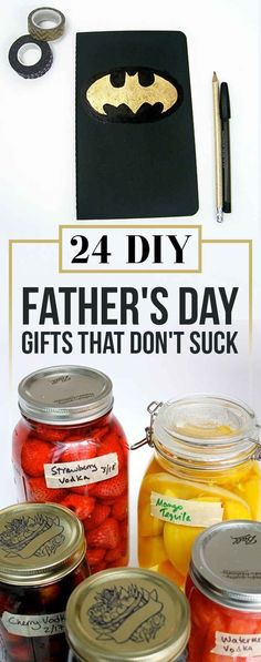 23 DIY Father's Day Gifts He'll Actually Want