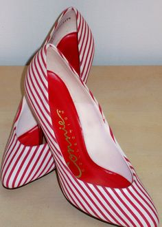 CANDY CANE Striped Heels