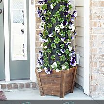 (3) Hometalk :: Create your own Flower Tower to decorate your front or back patio!