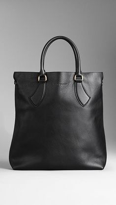 Small Leather Tote Bag | Burberry
