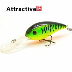 15G 10.5C Big Temptation Fishing Lures Minnow Crank Bait Crankbait Bass Tackle Treble Hook bait wobblers fishing free shipping * Detailed information can be found by clicking on the image