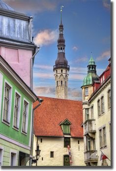 Fairy town  - Tallinn, Estonia #COLOURFULESTONIA #VISITESTONIA