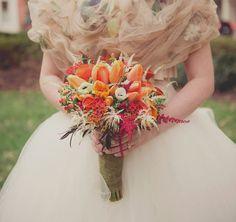 Woodland-Inspired Indoor Wedding bouquet