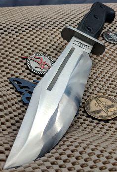 Rare Vintage Blackjack Knives Anaconda 1 Model BJ-60 Bowie Knife Made in Japan #BlackjackKnives