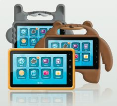 Nabi Tablets for kids...android 2.3 tablet for kids...these are too cute!