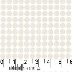 Mark Hordyszynski FABRIC - Mirror Ball Dot - Snow - Metallic. $10.95, via Etsy.