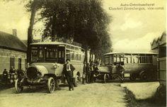 Buslijn Zevenbergen -  Klundert omstreeks 1925