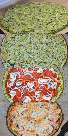 Lækker squashpizza er et rigtigt godt og meget sundere alternativ til den almindelige pizza. Og så kan man komme lige præcist det fyld på, man har lyst til. Healthy Recepies, Healthy Recipes For Weight Loss, Healthy Food, Clean Recipes, Veggie Recipes, What To Eat Tonight, Squash Pizza, I Love Pizza, Fodmap Recipes