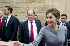 Queen Letizia of Spain Photos - Spanish Royals Attends Investiture of Honorary Doctors By Salamanca's University - Zimbio