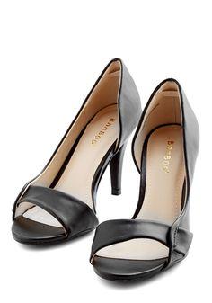 Instant Elegance Heel in Black, #ModCloth
