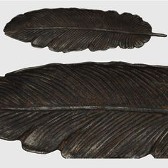 Cast Iron Feather Tray