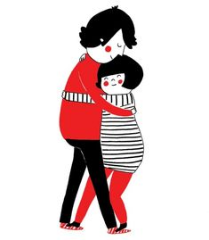 15 теплых иллюстраций о спонтанном проявлении любви
