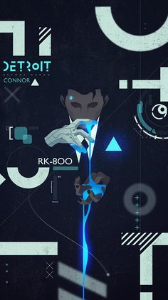 Oooh myy baby looks fucking cool 😩😩 - Detroit become human Connor By: Dechart Bryan, Overwatch, Wallpaper Animes, Detroit Become Human Connor, Detroit Being Human, Quantic Dream, Becoming Human, I Like Dogs, Video X
