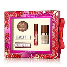 Fresh SUGAR LIP LOVERS Gift set >>> For more information, visit image link.(This is an Amazon affiliate link and I receive a commission for the sales)