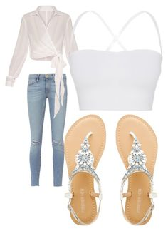 """""""Untitled #3038"""" by bellagioia ❤ liked on Polyvore featuring Frame and Theory"""