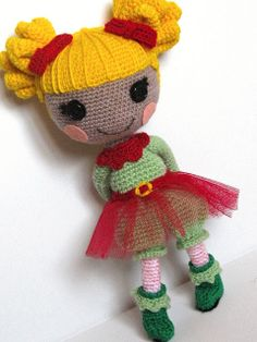 This is the doll Willa asked Santa for... I can't find it so I need to make it...
