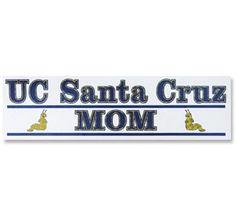 UC Santa Cruz Mom Decal