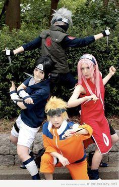 This is good cosplay! #kakashi #sasuke #naruto