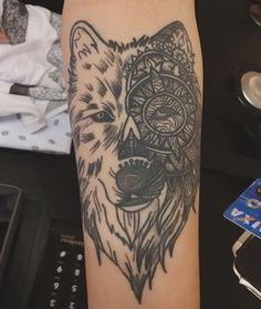 Wolf Tattoo/ Tatuagem de Lobo