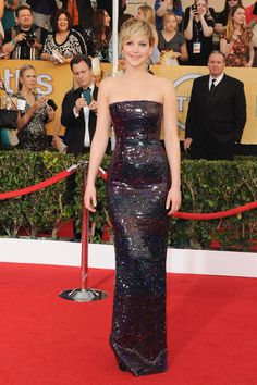 Jennifer Lawrence @ THE SCREEN ACTORS GUILD AWARDS