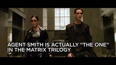 "The Matrix Trilogy is driven by the mystery of whether Neo, the film's protagonist, is actually the savior of mankind. But here's a crazy theory: What if Neo's arch nemesis, Agent Smith, was actually ""The One"" this entire time."