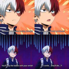 Boku No Hero Academia Funny, My Hero Academia Shouto, My Hero Academia Episodes, Hero Academia Characters, Anime Characters, Funny Anime Pics, Cute Anime Guys, Me Anime, Anime Love