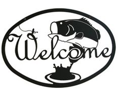 Deep Sea Theme Standing Lighthouse - Lighthouse by Sea - Bass or Ocean Critters Powder-coated Black Metal House Welcome Signs Welcome Home Signs, Address Plaque, Address Signs, Outdoor Signs, Outdoor Decor, Sea Theme, Metal Homes, Bass Fishing, Metal Wall Art