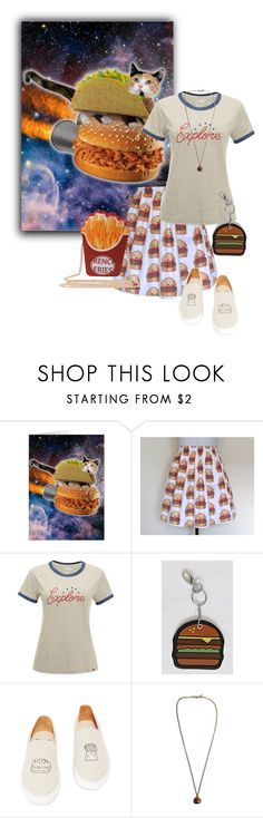"""Summer Burgers"" by funnfiber ❤ liked on Polyvore featuring The North Face, Soludos and Trimmings"