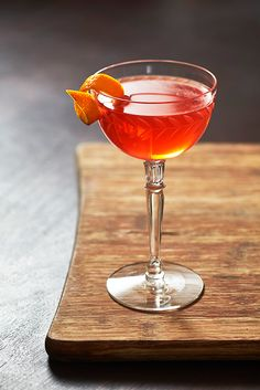A classic gin cocktail in the neighborhood of the Negroni, the Lucien Gaudin amplifies the flavors of bitter orange by swapping in dry vermouth.
