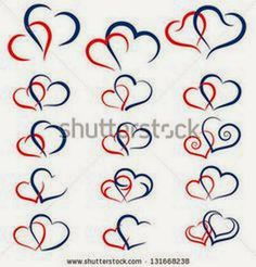 an elegant design of two hearts intertwining or embracing each rh pinterest com Heart Tattoo Designs and Drawings Celtic Heart Tattoo Designs