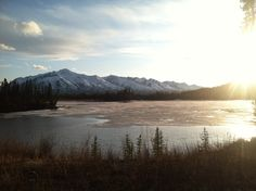 Alaska is so darn beautiful!!! Also, I love my iPhone :)