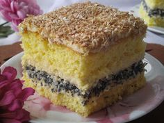 W piękną świąteczną sobotę zapraszam na pyszne ciasto biszkoptowo- makowo- kokosowe z masą ajerkoniakową. Ciasto ucieszy podniebnie nawet na...