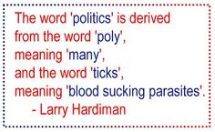 Political Quote   Haha