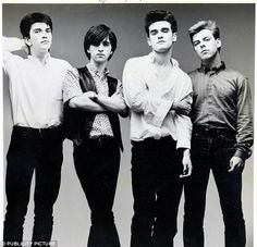 Claim to fame: Stephen Morrissey started out in The Smiths...