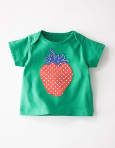 I've spotted this @BodenClothing Sunny Appliqué T-shirt Meadow/Strawberry