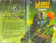 Larry Niven, Space Painting, Science Fiction Books, Fantasy Books, Sci Fi Art, Cover Art, Literature, The Past, Author