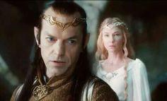 Elrond en Galadriel