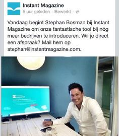 stephan bosman instant magazine.PNG Instant magazine is worlds first responsive #Online #Magazine for smartphones, tablets and desktop