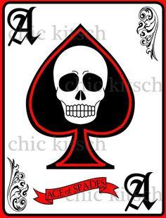 Skull Ace of Spades