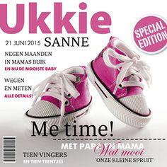 Een originele editie van ukkie magazine! Dit geboortekaartje voor een meisje heeft een magazine look en is voorzien van twee roze gympen op de cover. 21 Juni, Me Time, Adidas Sneakers, Baby Shoes, Om, Babies, Cover, Adidas Shoes, Babys