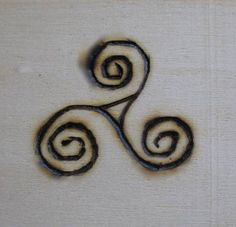 Pagan and Wiccan Symbols: Triple Spiral - Triskele Witch Symbols, Viking Symbols, Egyptian Symbols, Viking Runes, Ancient Symbols, Pagan Tattoo, Witch Tattoo, Wiccan Tattoos, Symbolic Tattoos